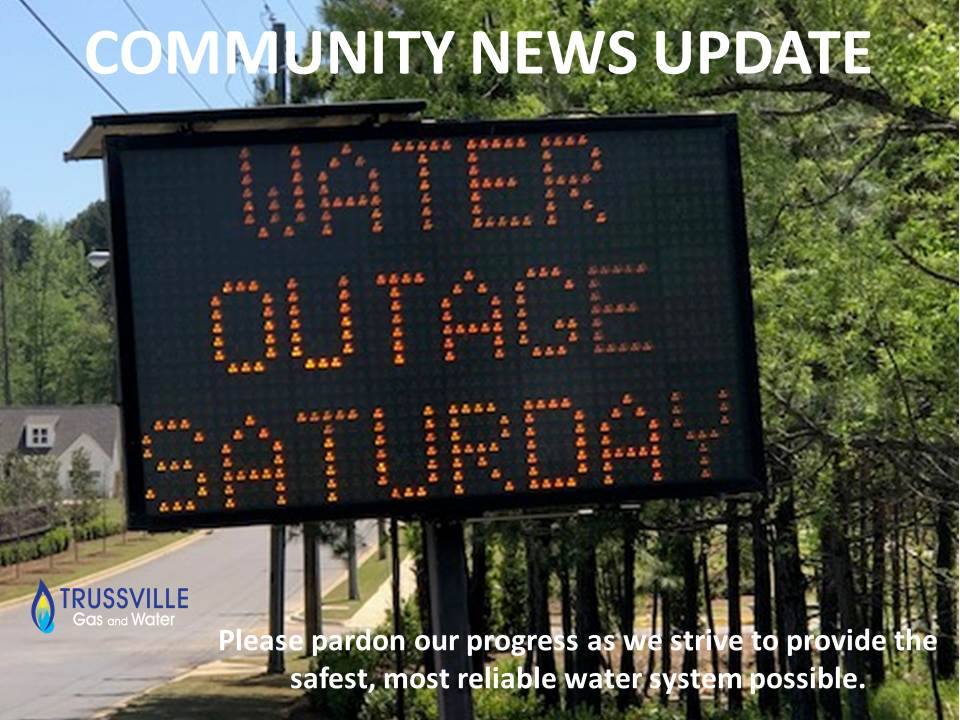 Community News Update   Temporary Water Outage