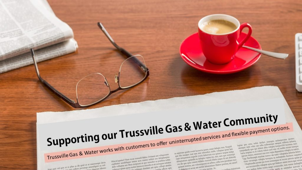 Supporting our Trussville Gas & Water Community